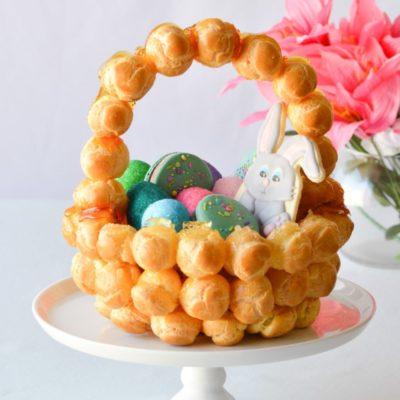 Easter Croquembouche