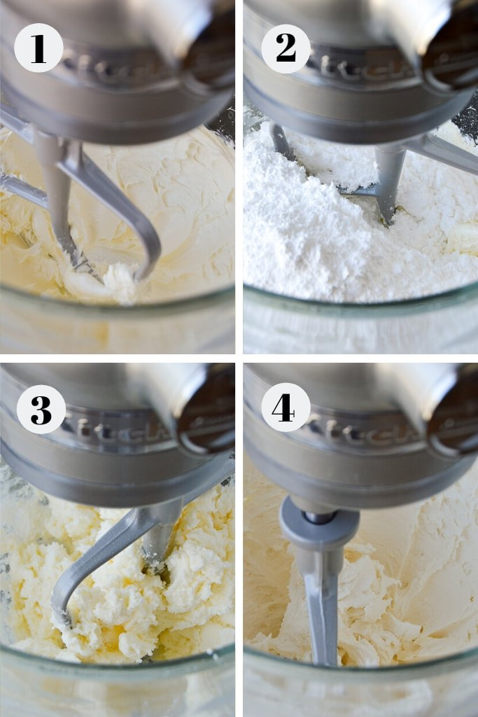 process of makingAmerican butterrcream