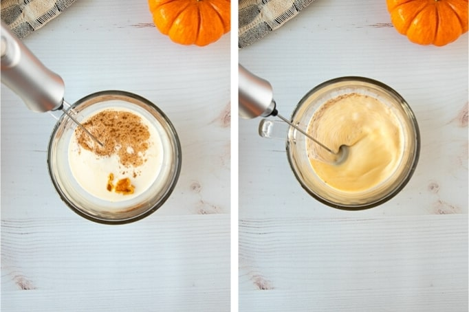 pumpkin cream cold brew process