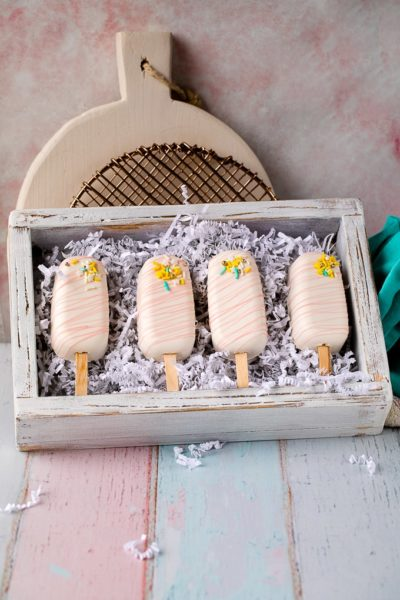 cakesicles in box