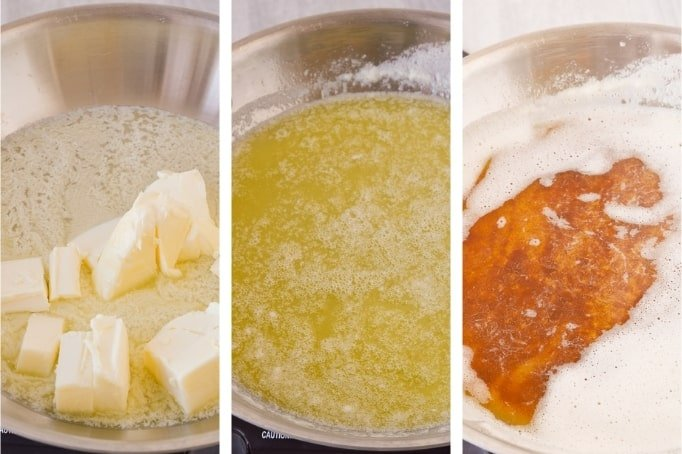 process of making brown butter