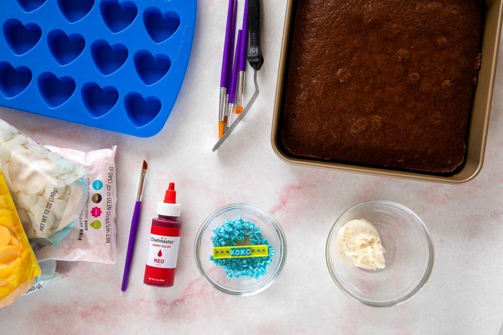 heart cake bites ingredients