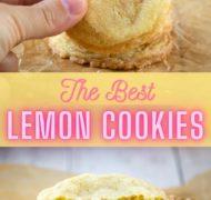 the best lemon sugar cookie pin