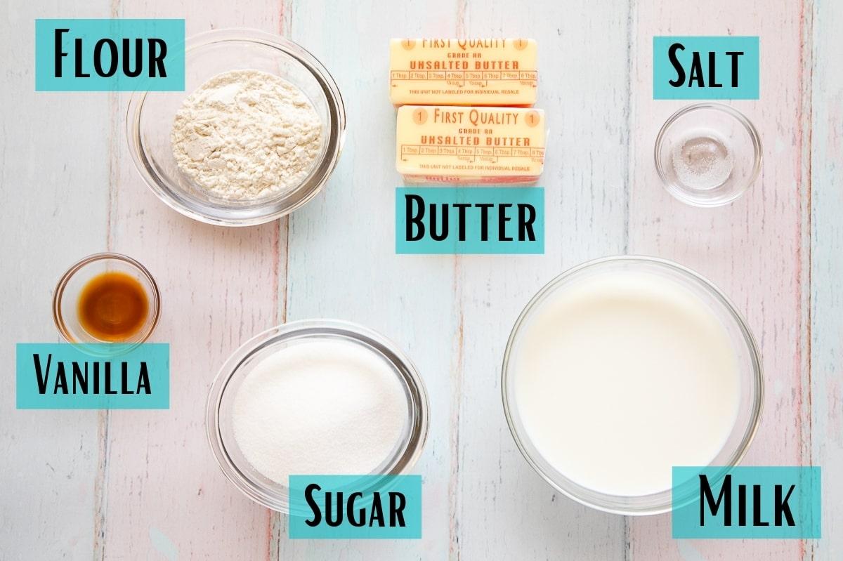 ermine frosting ingredients