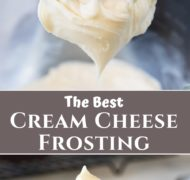 Cream Cheese Frosting pin